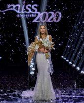 Miss Slovensko 2020 Leona Novoberdaliu