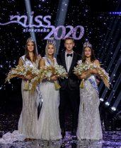 Víťazky súťaže Miss Slovensko 2020 a riaditeľ súťaže Michael Kováčik